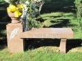 Memorial Granite Bench