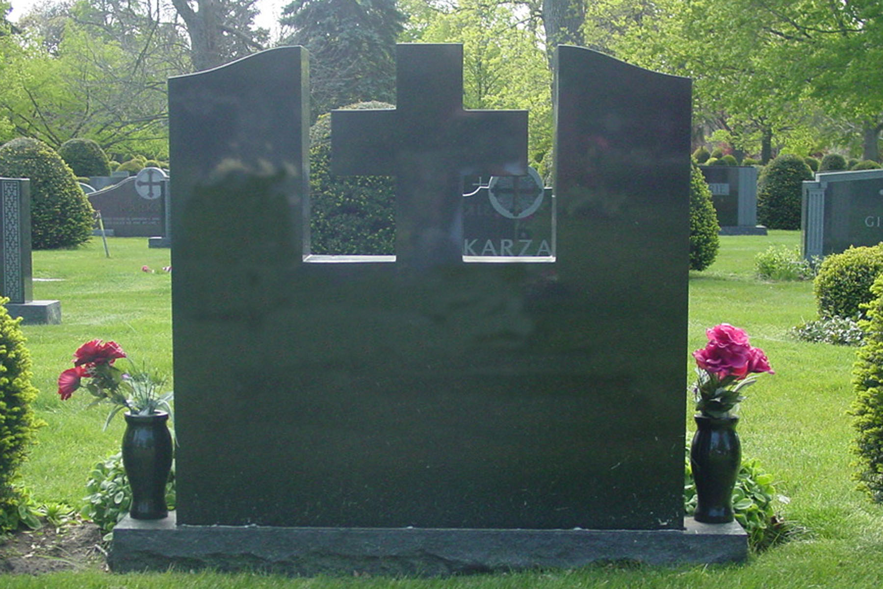 Chicago Custom Granite Monuments Example 1