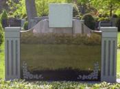 Chicago Custom Granite Monuments Example 2