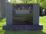Chicago Custom Granite Monuments Example 3