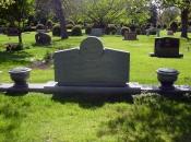Chicago Custom Granite Memorial Example 4