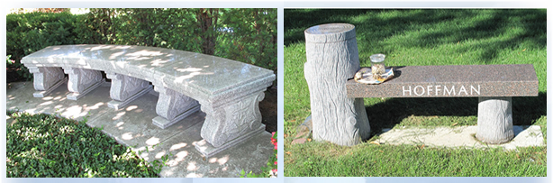 Chicago Granite Benches